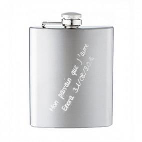 Flasque Acier Brossé 90 ml