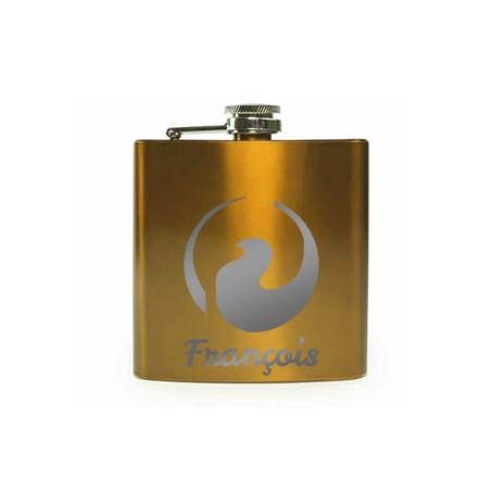 Flasque vernis doré