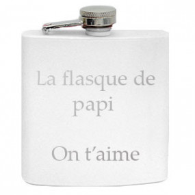 Flasque Blanc Brillant 180 ml
