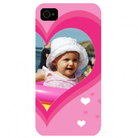 Coque iPhone 5/5S Rose Demi...