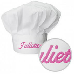 Toque de Cuisine Blanche...