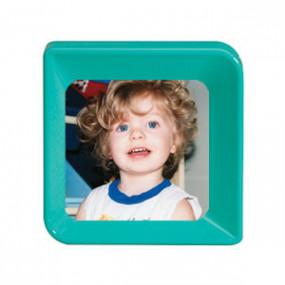 Cadre Photo portrait Turquoise