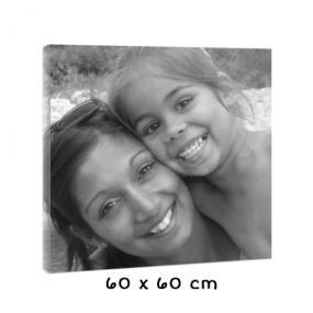 Tableau noir et blanc 60 cm