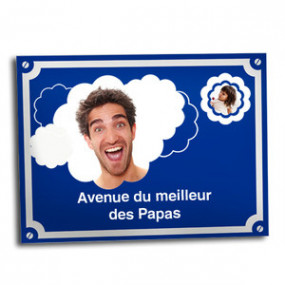 Plaque de Rue Meilleur Papa