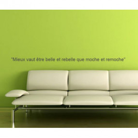 Sticker Mural Texte - 90 x...