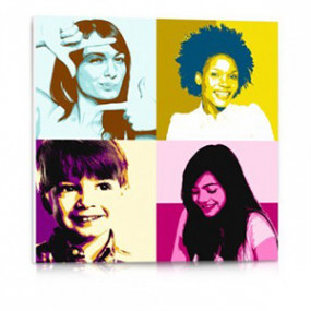 Tableau Photo PVC Pop Art -...