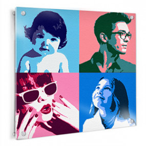 Tableau Photo Plexi Pop Art...
