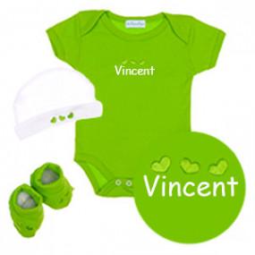 Coffret Body 3 pièces Vert...