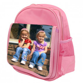 Cartable Photo Enfant Rose