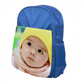 Cartable Photo Enfant Bleu