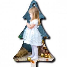 Décoration de Noël Sapin Bois