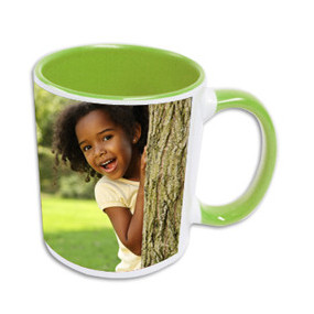 Mug Photo Vert Clair