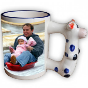 Mug Photo Enfant Vache