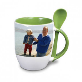 Tasse Photo Vert Clair