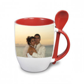 Tasse Photo Rouge