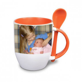 Tasse Photo Orange