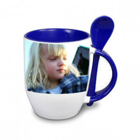 Tasse Photo Bleu
