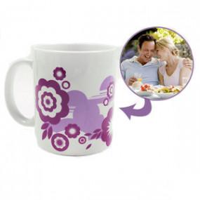 Mug Photo Motif Fleur