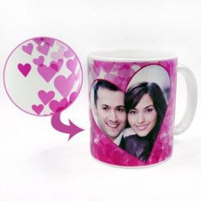 Mug Photo Multi Coeurs