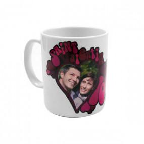 Mug Photo Seventies Love