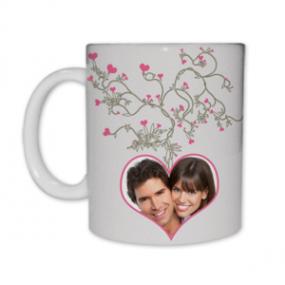 Mug Photo Arbre à Coeurs
