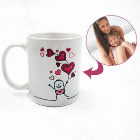 Mug Photo Ballons de tendresse