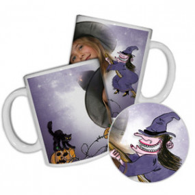 Mug Photo Halloween Sorcière