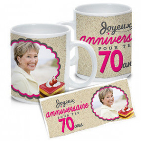 Mug Photo Blanc Joyeux...