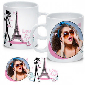 Mug Photo Paris Glamour