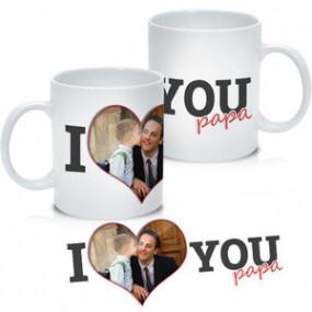 Mug Photo I Love You Papa