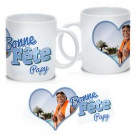 Mug Photo Bonne Fête Papy