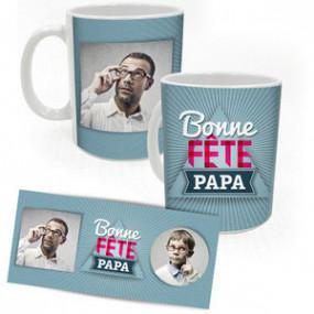Mug Photo Bonne Fête Papa...