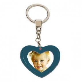 Porte-clé Coeur Simili-cuir...