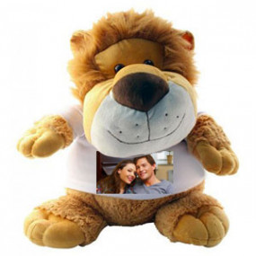 Grande Peluche Lion Rouly