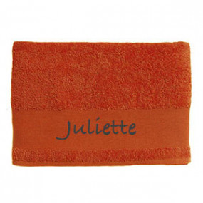 Serviette de Bain Orange...
