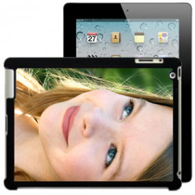 Coque Photo iPad Bord Noir