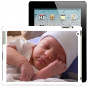 Coque Photo iPad Bord Blanc
