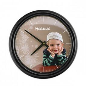 Horloge Photo Murale Ronde...