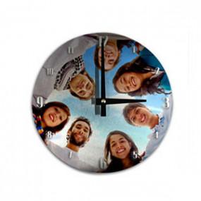 Horloge Photo Murale Ronde