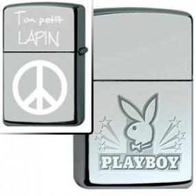 Briquet Zippo Playboy Stars