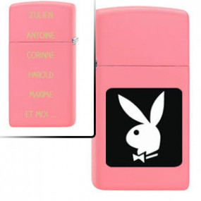 Briquet Zippo Playboy Pink...