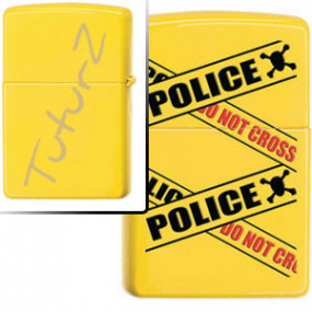 Briquet Zippo Do Not Cross