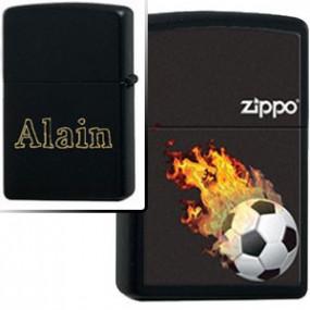 Briquet Zippo Football