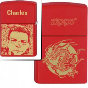 Briquet Zippo Red Dragon