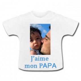 T-shirt Blanc pour Bébé
