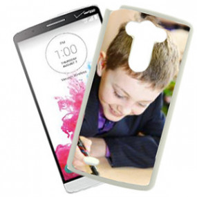 Coque Photo LG G3 Bord Blanc