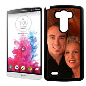 Coque Photo LG G3 Bord Noir