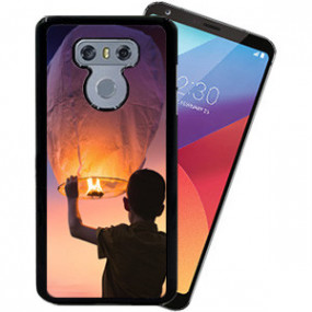 Coque Photo LG G6 Bord Noir