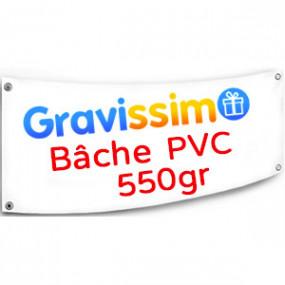 Bâche PVC 550g - 150 x 50 cm