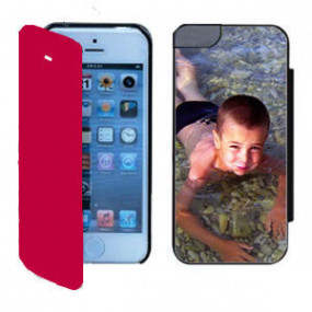 Coque Photo iPhone SE Flip...